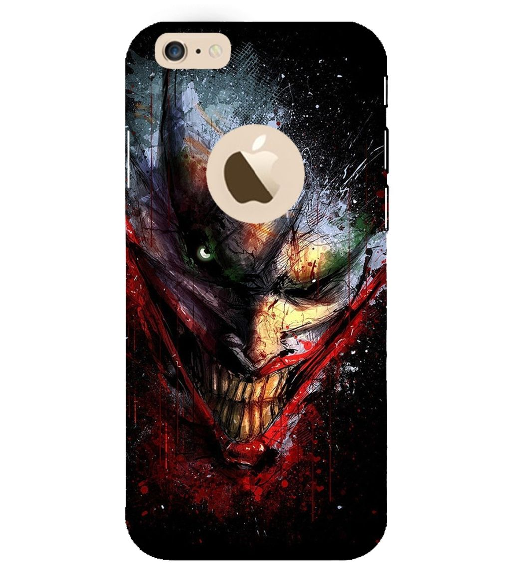 new product 217c1 f1d8c Evaluze joker Printed Back Case Cover for APPLE IPHONE 6
