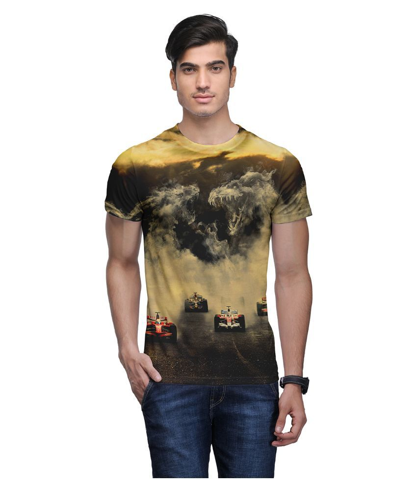 Wear Your Mind Multi Round T Shirt