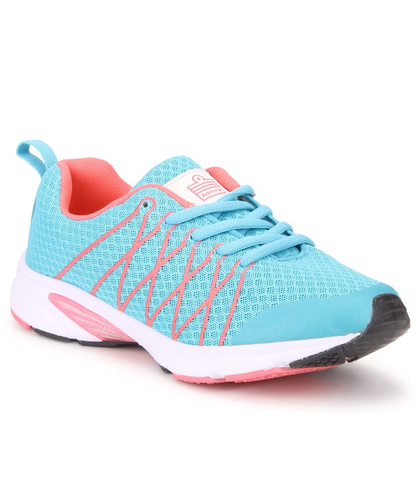 Admiral Turquoise Sports Shoes