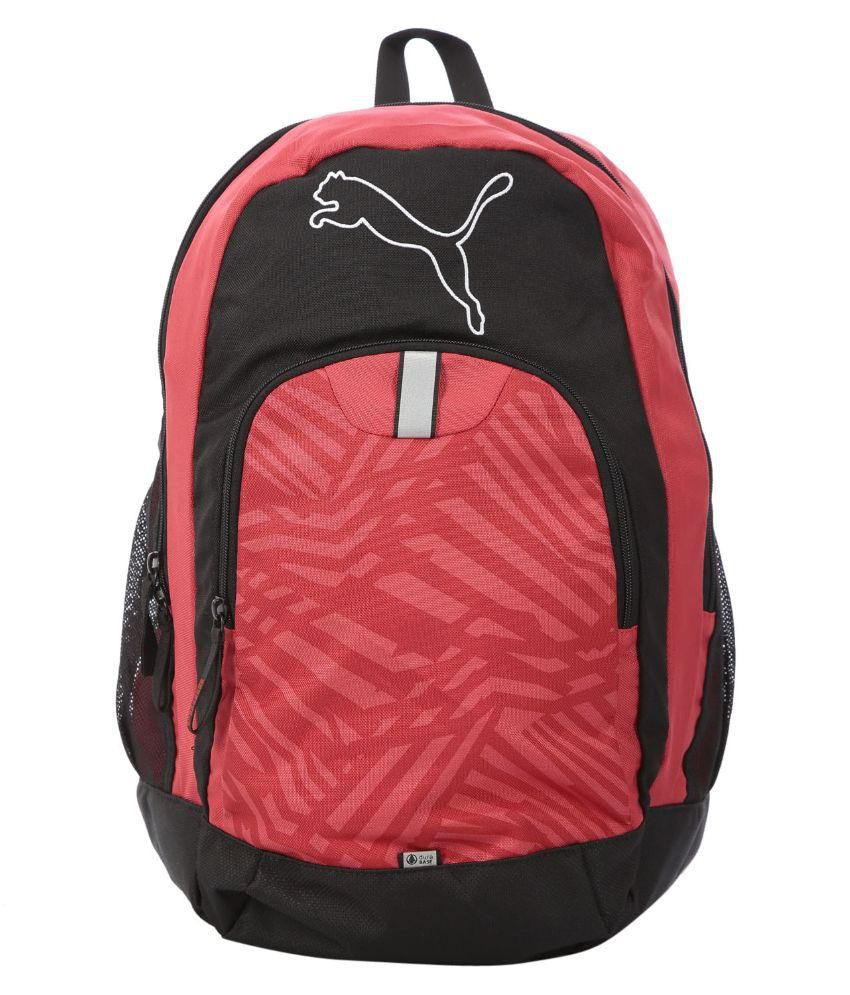 Puma Multi Color Polyester Casual Backpack