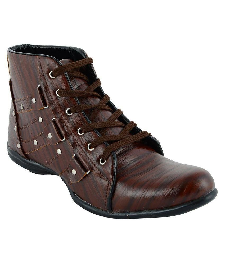 Shoe Sense Brown Boots