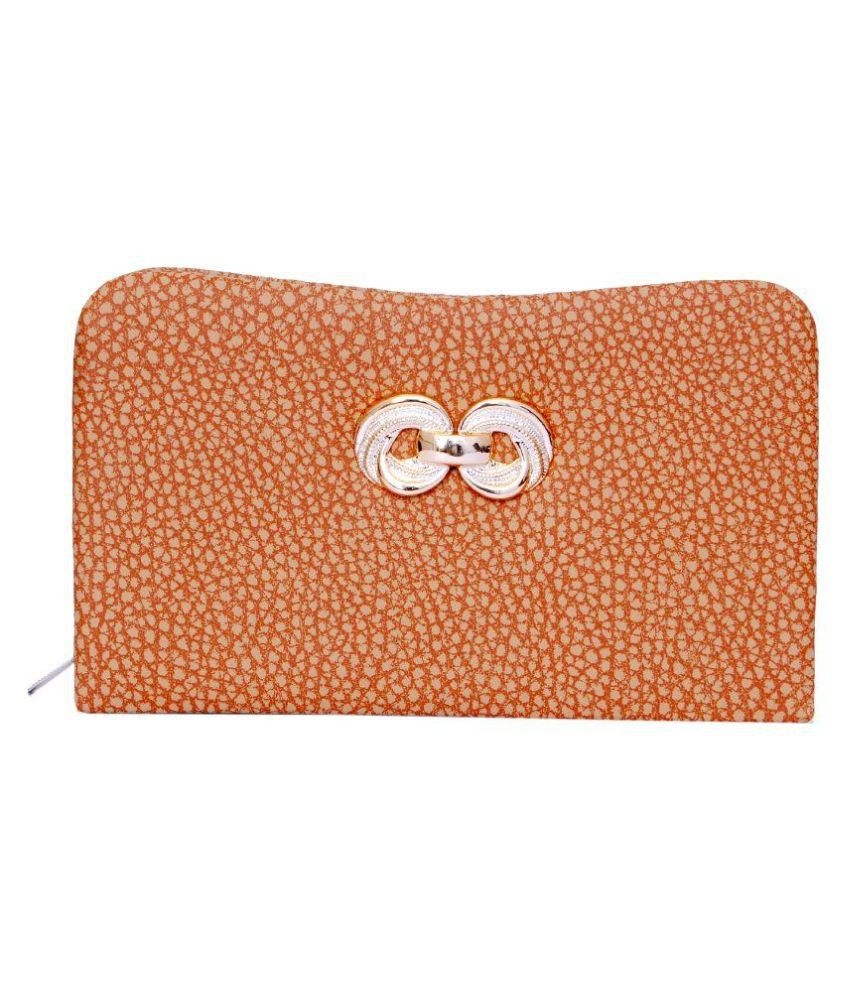 B & B Brown Casual Wallet for Women