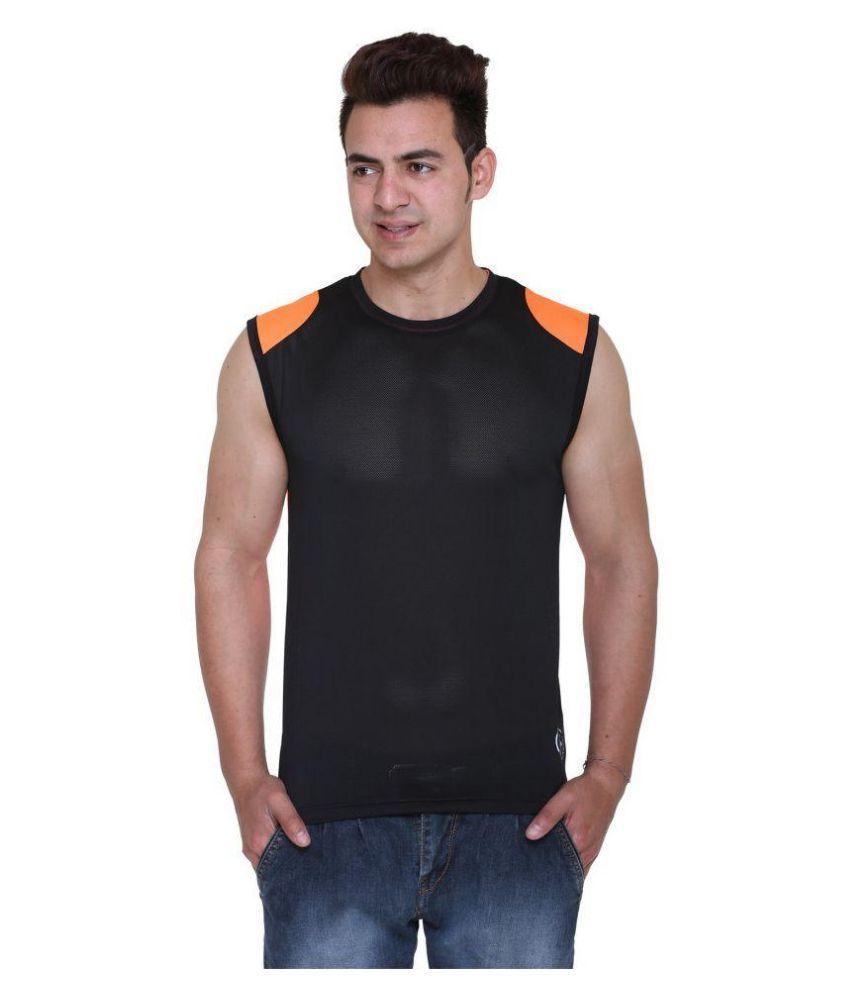 Hikes Black Round T Shirt