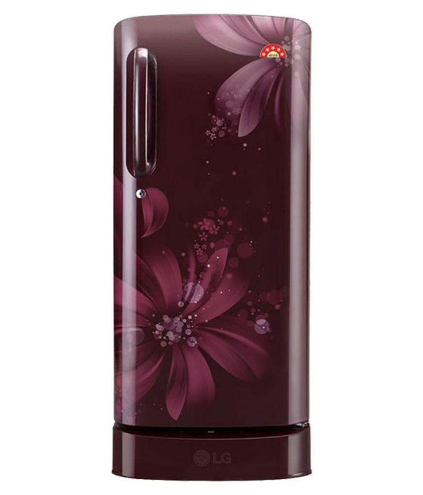 LG 215 GL-D221ASAI Direct Cool Single Door Refrigerator Maroon