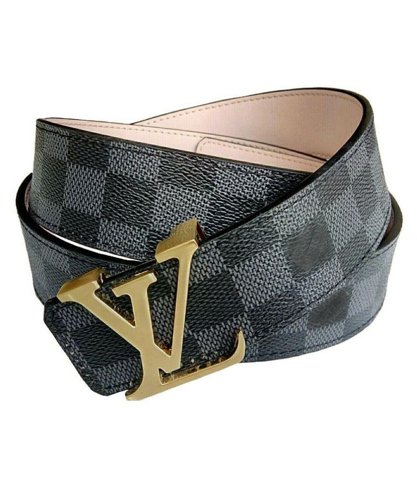 Rabbit Multicolour Leather Belt for Men