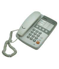 Sonics HT-929 Corded Landline Phone White