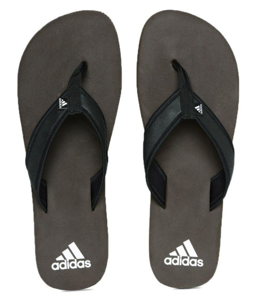 66a6fae7f Adidas Black Flip Flops Art ADIBA4884 Price in India- Buy Adidas Black Flip  Flops Art ADIBA4884 Online at Snapdeal