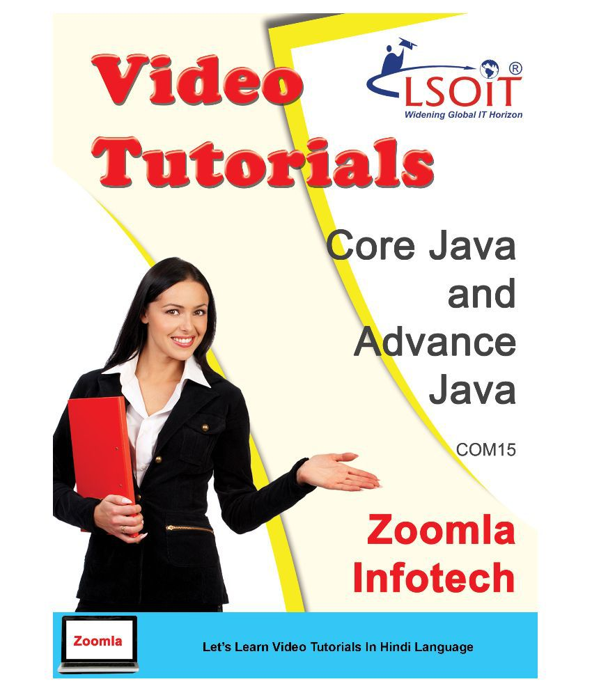 Core Java And Advance Java Video Tutorials DVD in Hindi DVD