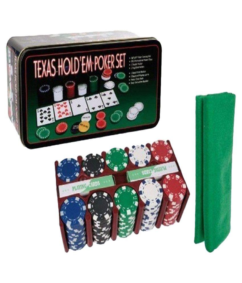 SNB Texas Hold'em Poker Set