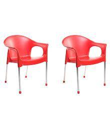 Cello Metallo Cafeteria Chair - Set of 2