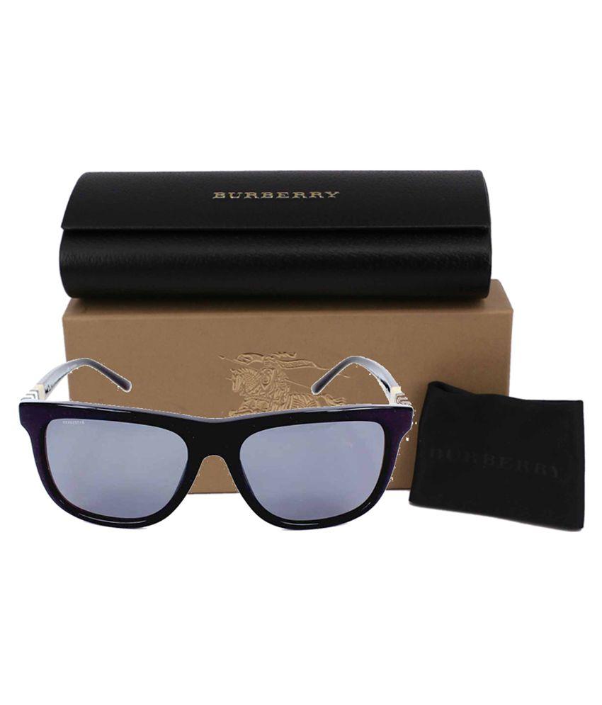 a8c49db79c095 Burberry Black Wayfarer Sunglasses ( B4201 300181 ) - Buy Burberry ...