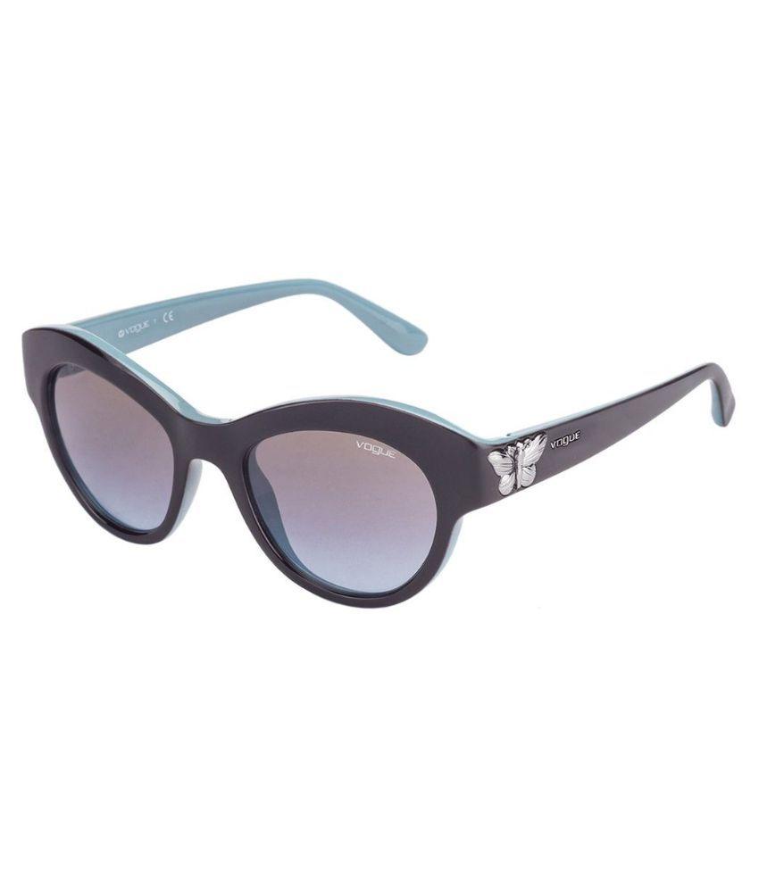 Vogue Multicolor Cat Eye Sunglasses ( VO2872-S-2185-48 )