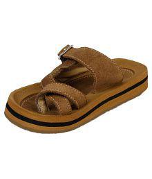 Beanz Brown Slipper