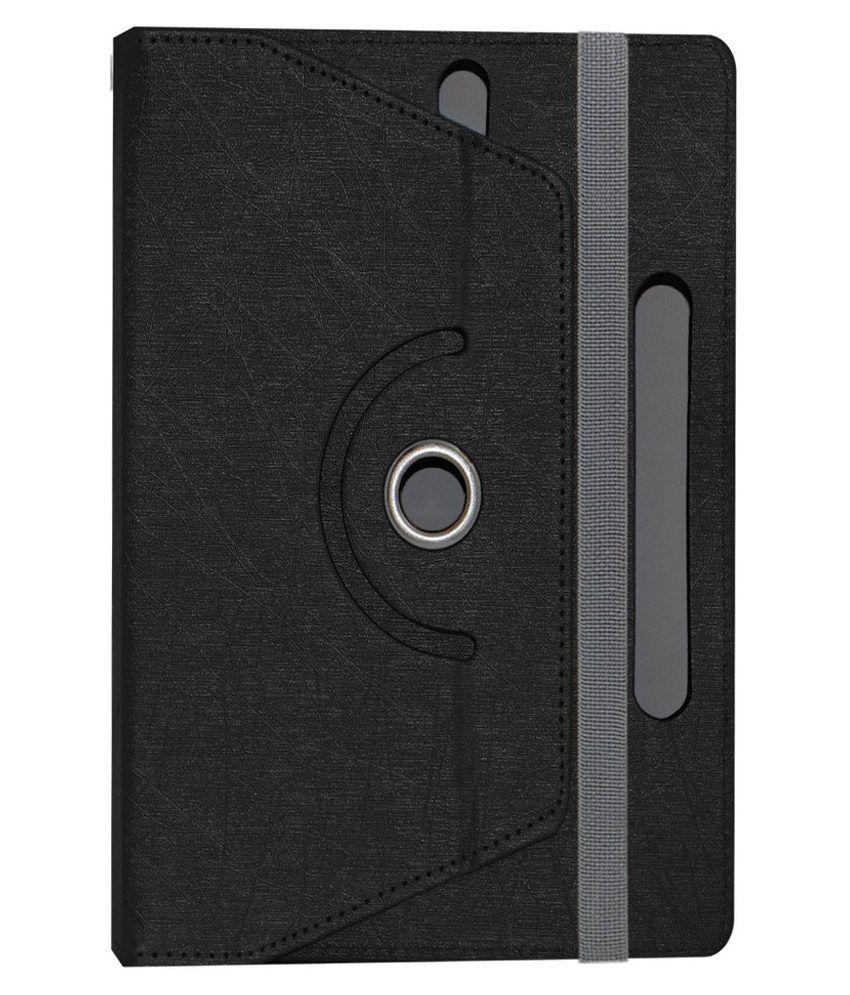 ACM Rotating Flip Cover for Samsung Galaxy Tab P1000 - Black