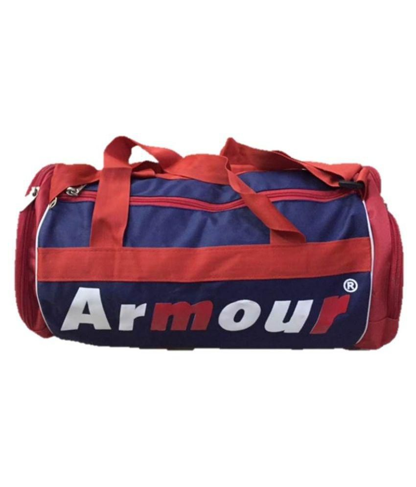 Armour Blue Gym Bag