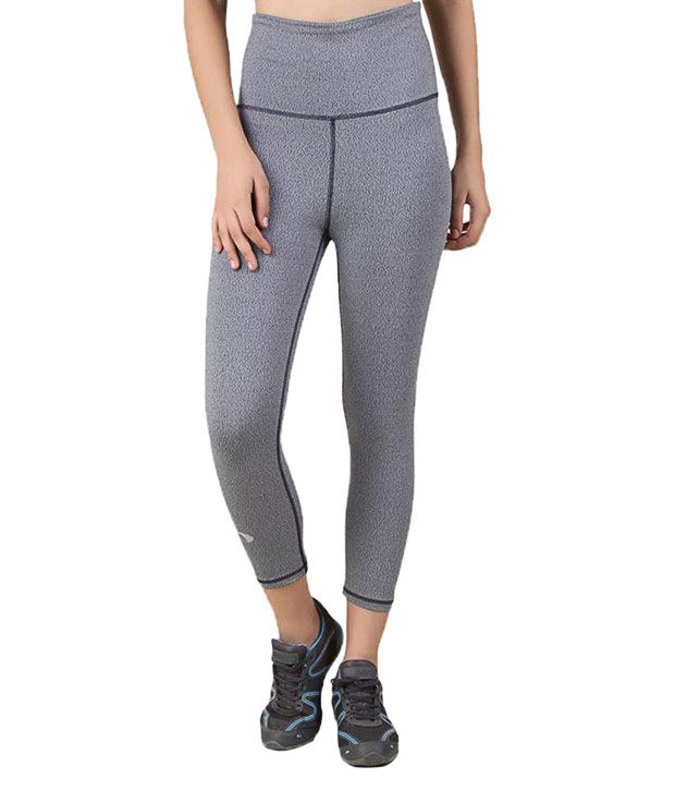 c3ec959e14cb07 Buy Arcley Gray Nylon Capris Online at Best Prices in India - Snapdeal