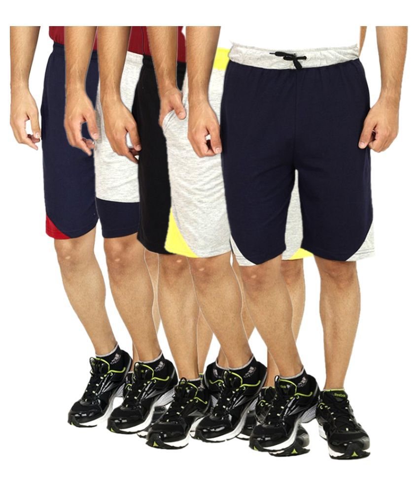 Christy World Multi Shorts Pack of 5