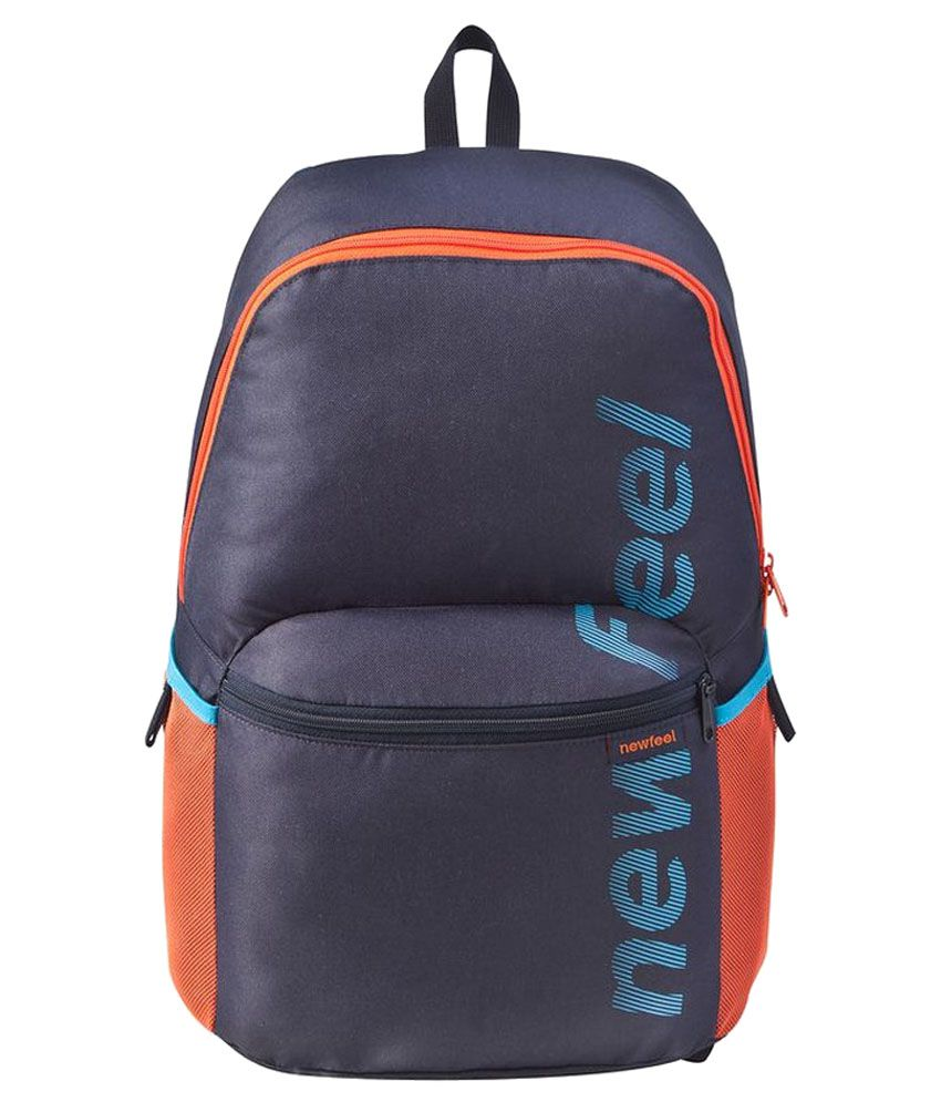 63f8ee8b75 NEWFEEL Abeona NAVY BLUE 10-20 ltrs Polyester Casual Backpack Price in  India