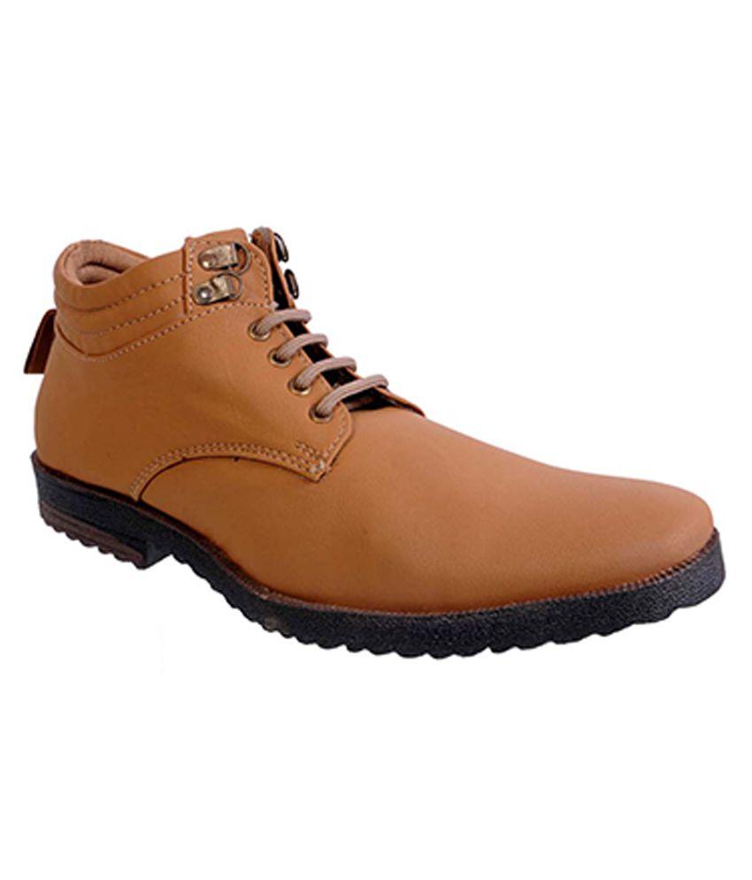 Urban Woods Tan Boots
