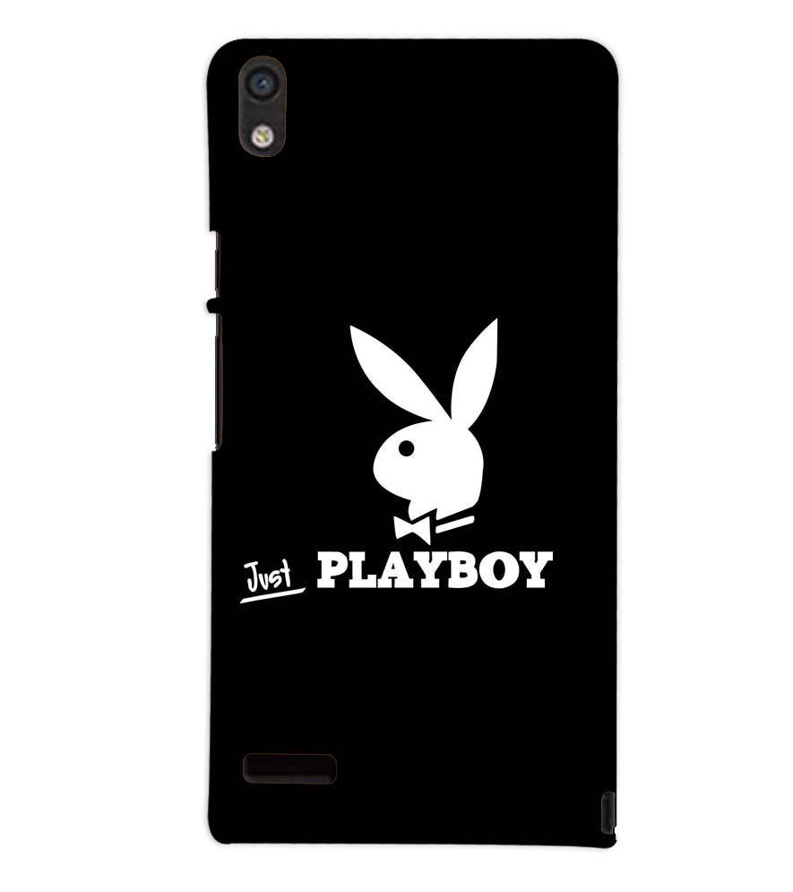 the latest ee2b9 6c265 HUAWEI ASCEND P6 PLAYBOY Designer Back Cover Case by PRINTSWAG