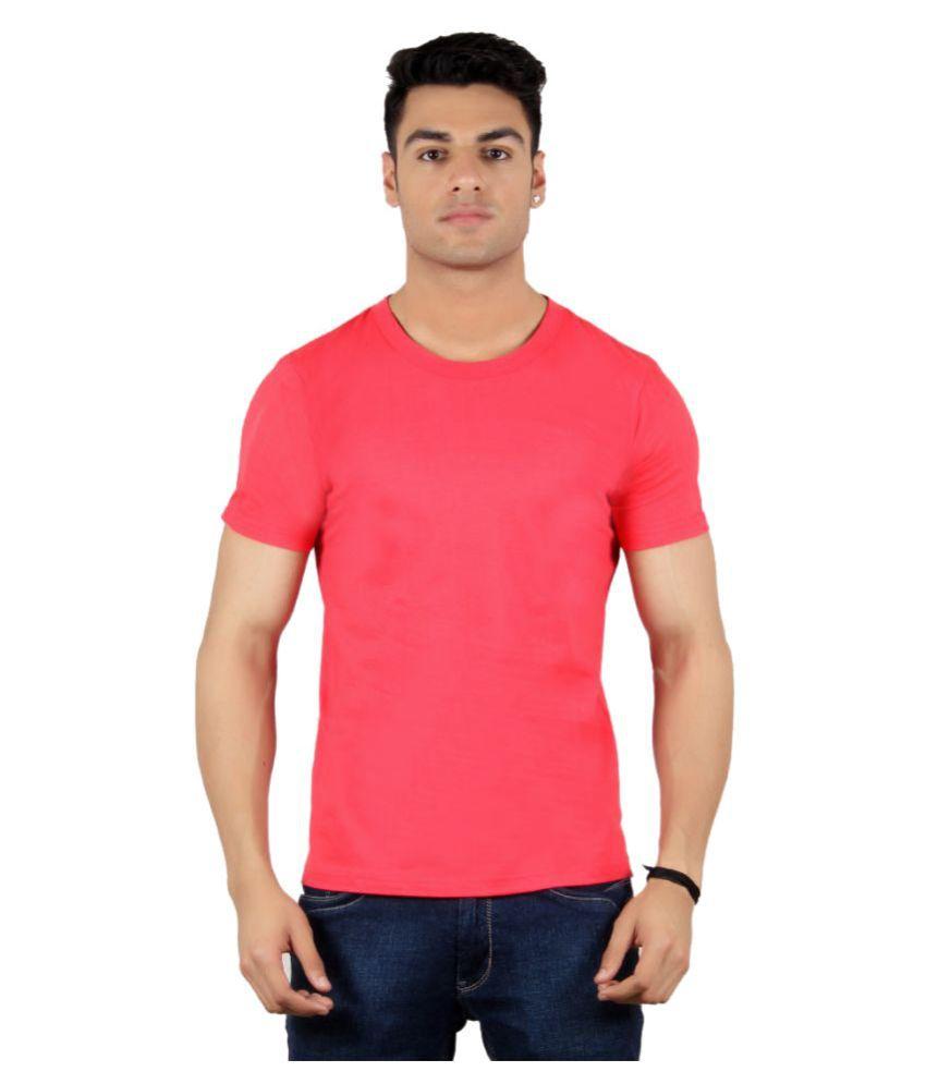 Diaz Pink Round T Shirt