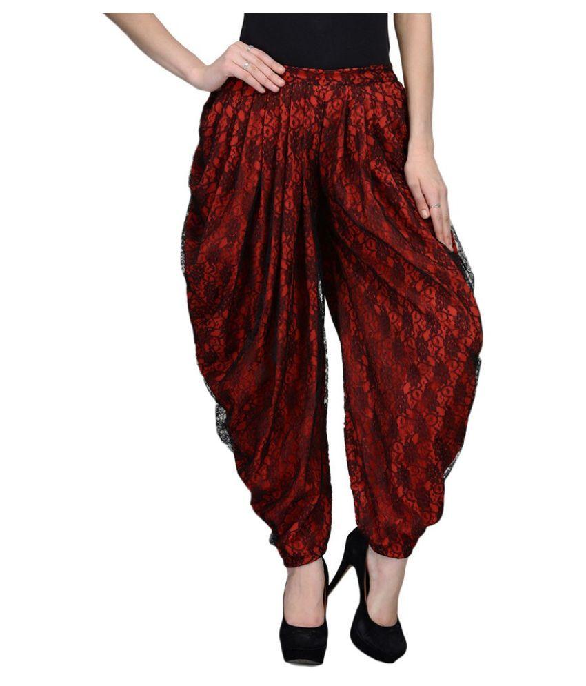 How to Wear Dhoti Pants