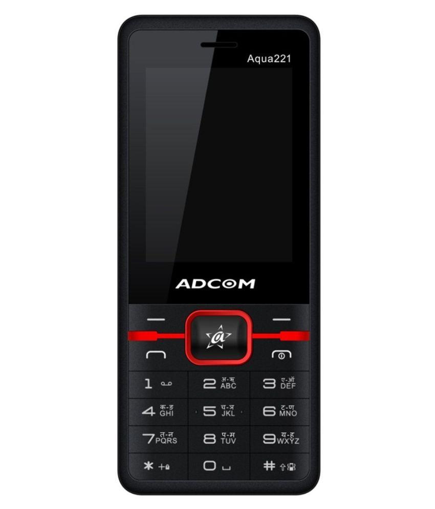 Adcom Aqua221 ( Below 256 MB Black )