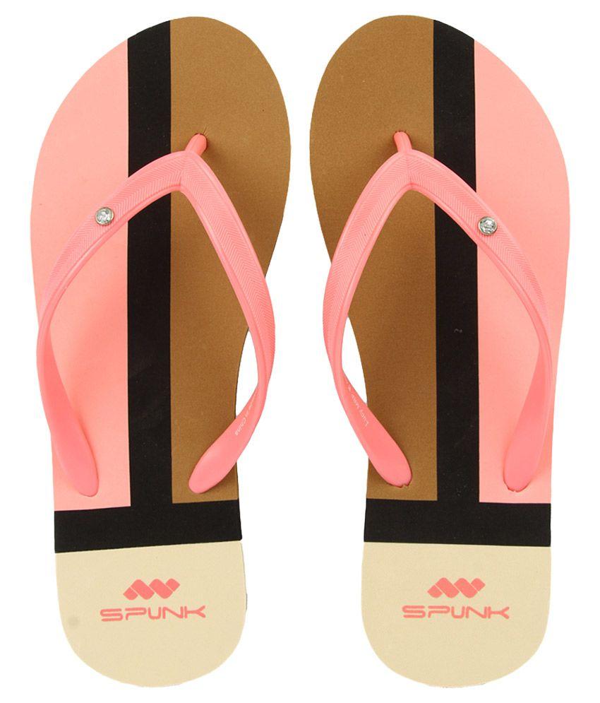 Spunk Pink Flip Flops