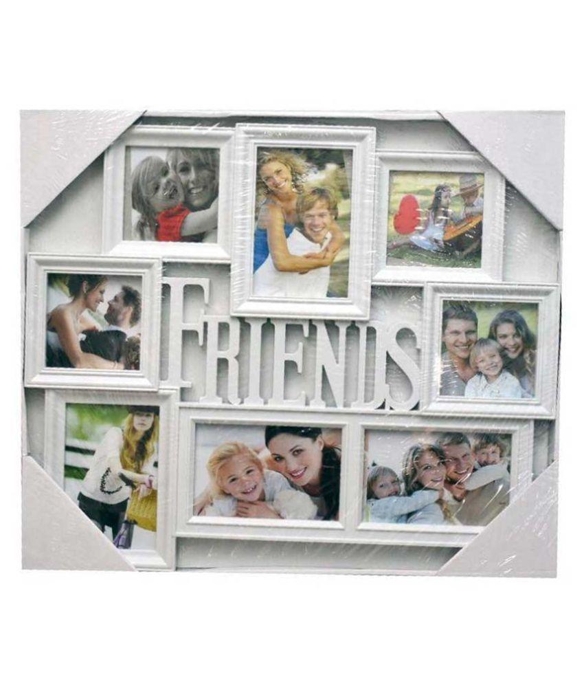 Addorn PVC TableTop White Collage Photo Frame: Buy Addorn PVC ...