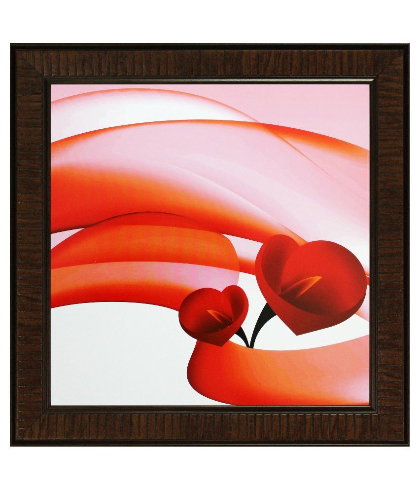 SAF ShyamArtnFrame Wood Art Prints With Frame Single Piece