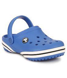 Crocs Blue Clogs Shoes