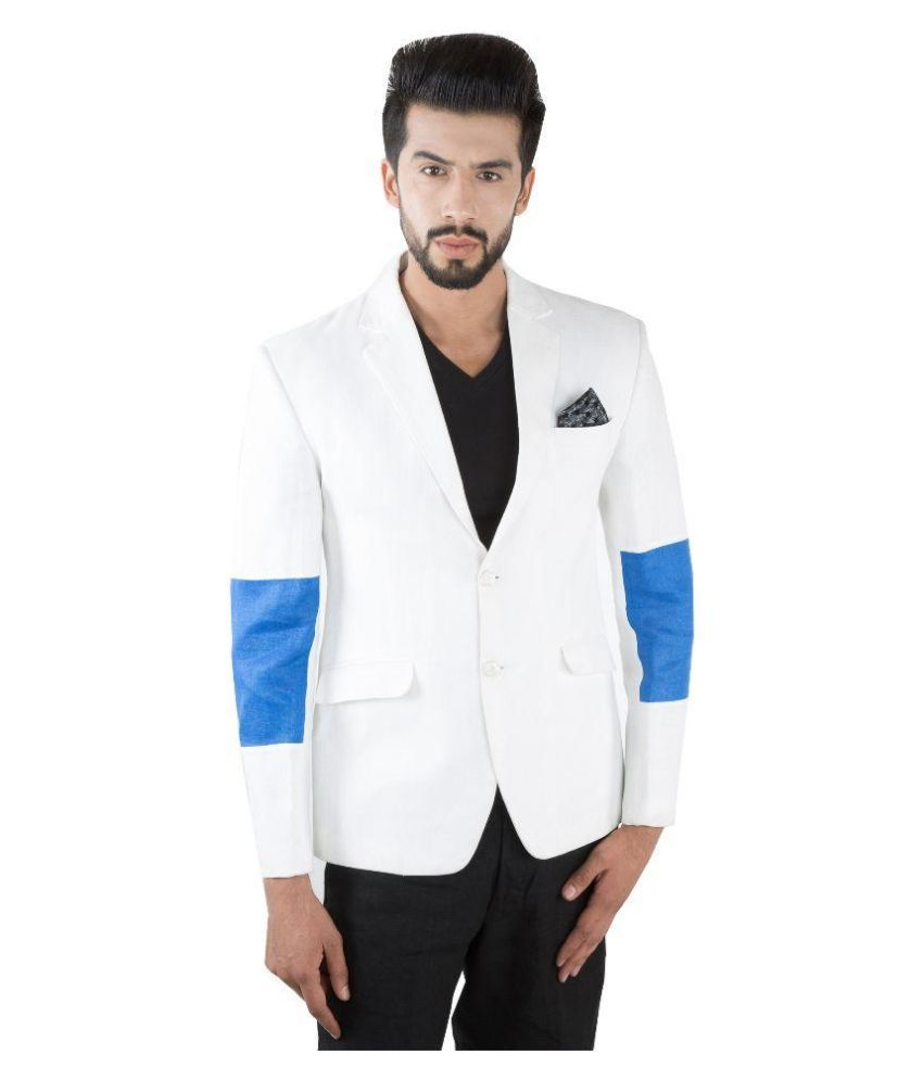 Jahanpanah White Party Blazers