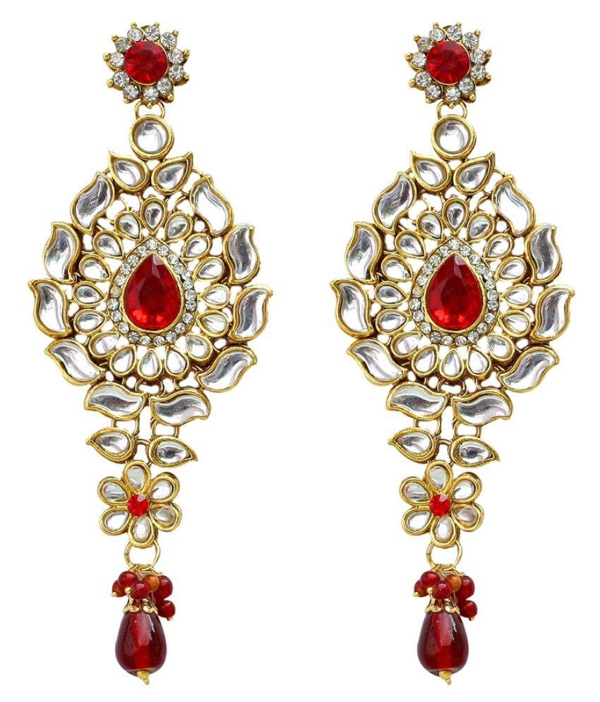07404aae68 Red Kundan Bridal Necklace set - Buy Red Kundan Bridal Necklace set ...