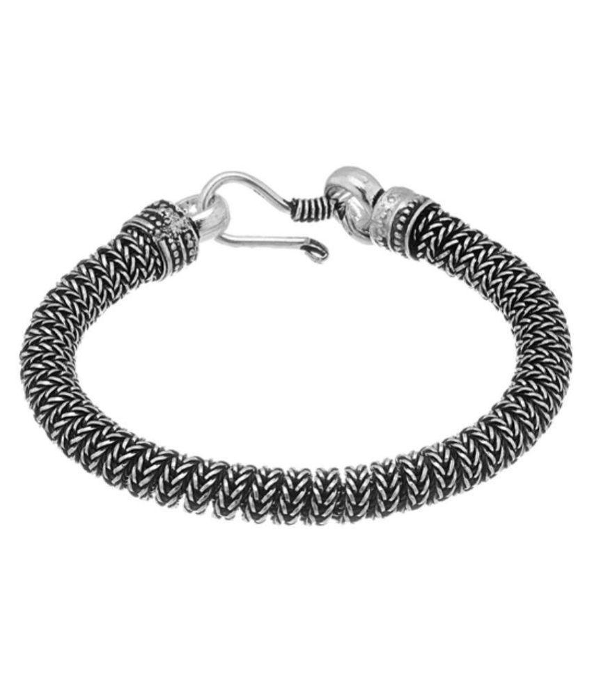 D&D Silver Alloy Bracelet