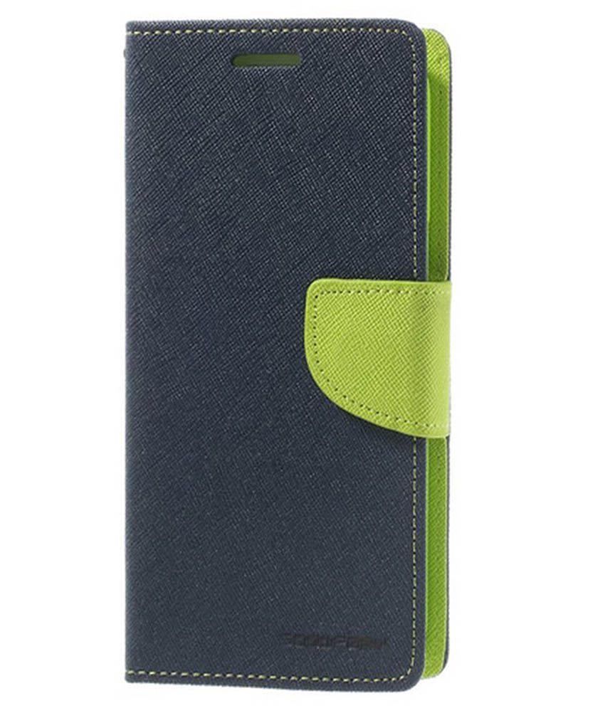 Samsung Galaxy J7 Flip Cover by Mercury - Blue