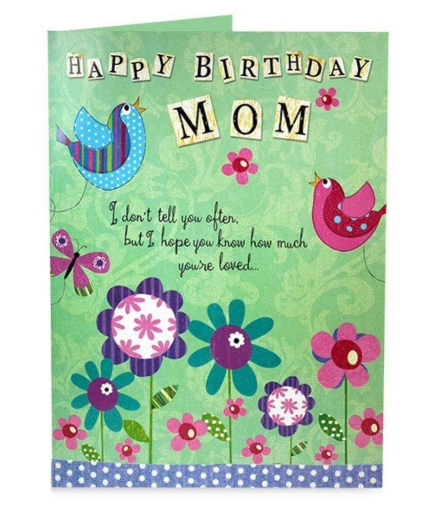 Archies Mom Birthday Card