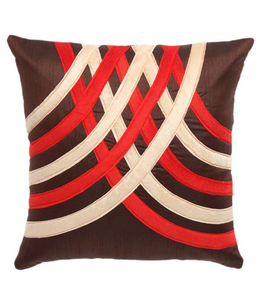 Cloth Fusion Set of 5 Silk Cushion Covers