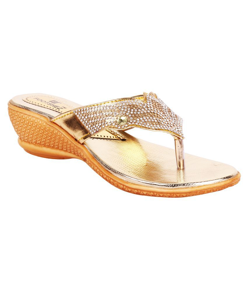 Footshez Gold Heels