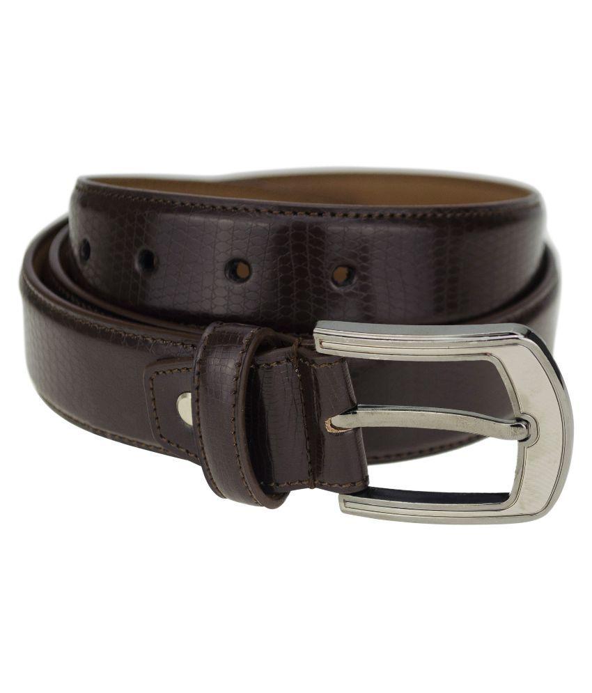 Kaos Brown Casual Belt for Men
