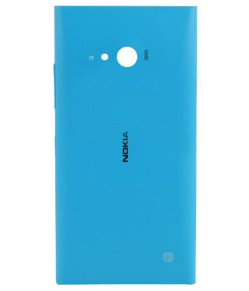 competitive price 41ee4 fdf1d Nokia Original Back Panel For Nokia Lumia 730 - Nfc Cyan