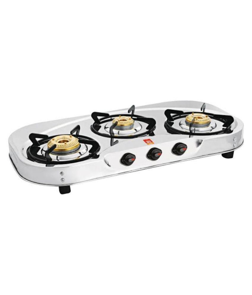 Surya-Shine-SUR623VB-Manual-Gas-Cooktop-(3-Burner)