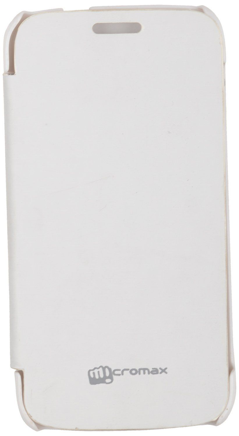 Iway Flip Cover for Micromax Canvas Turbo Mini A200  - White