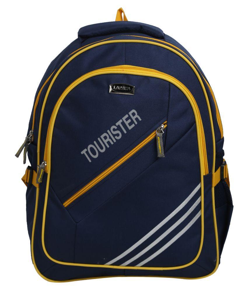 6487778a62d3 Lapaya Blue Nylon Laptop Backpack - Buy Lapaya Blue Nylon Laptop Backpack  Online at Low Price - Snapdeal