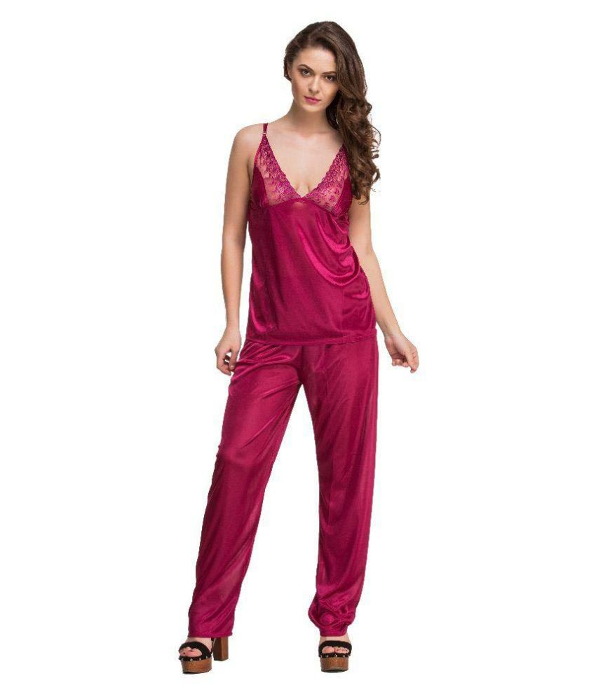 2fd6a94831 Buy Melisa Pink Net Nightsuit Sets Online at Best Prices in India - Snapdeal
