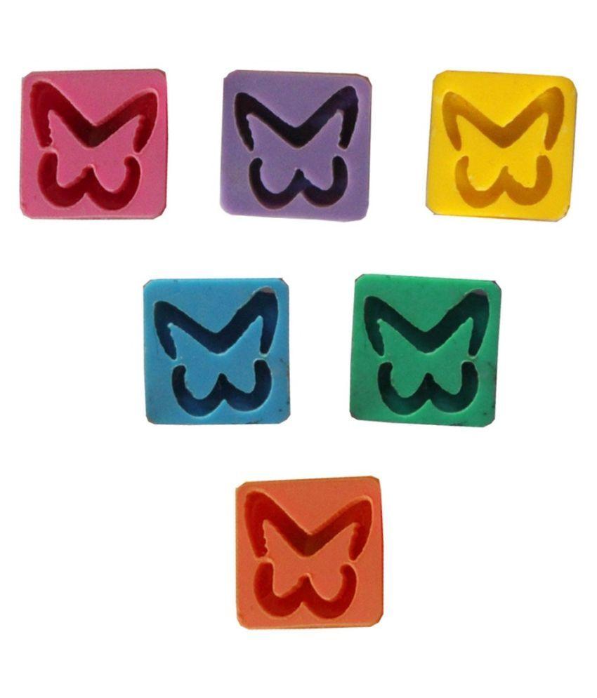 Pihu Multicolor Alloy Stud Earrings Combo