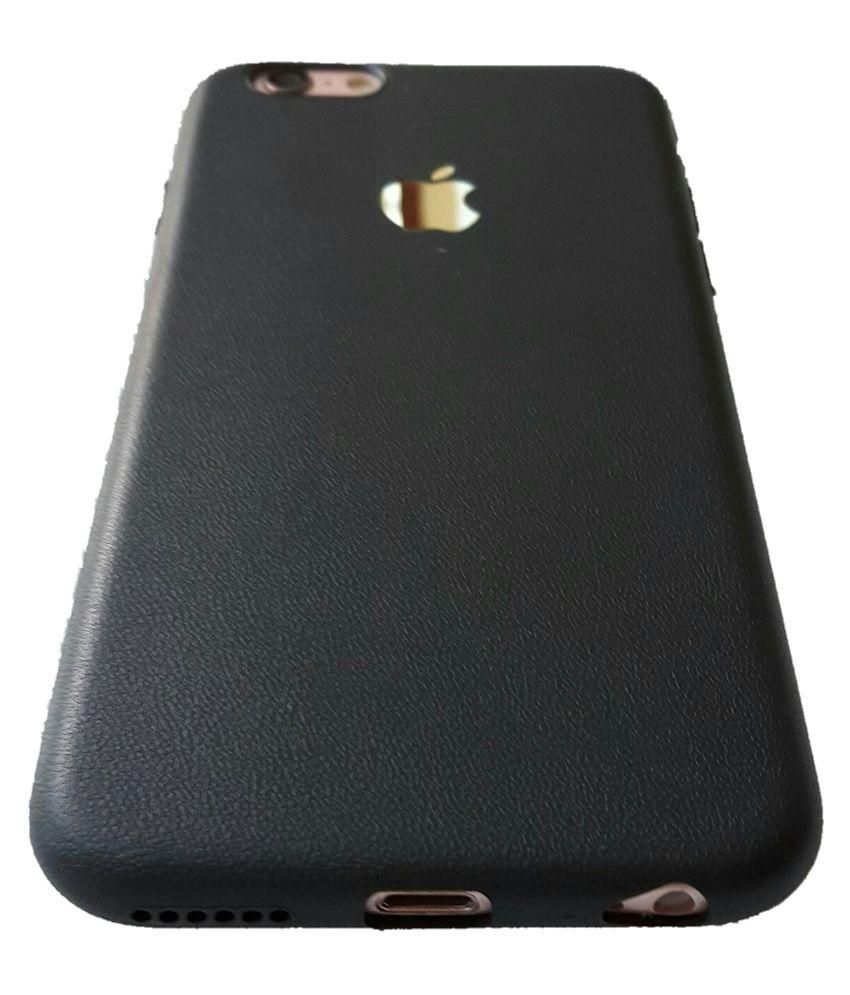 Apple iPhone 7 Cover by IKAZEN - Black - Plain Back Covers Online