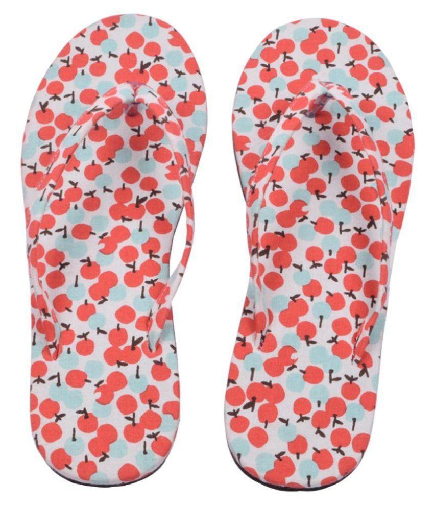 Hve Red Flip Flops