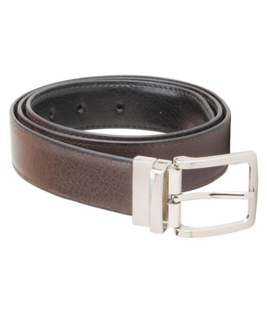 Calibro Brown Non Leather Reversible Men's Belt