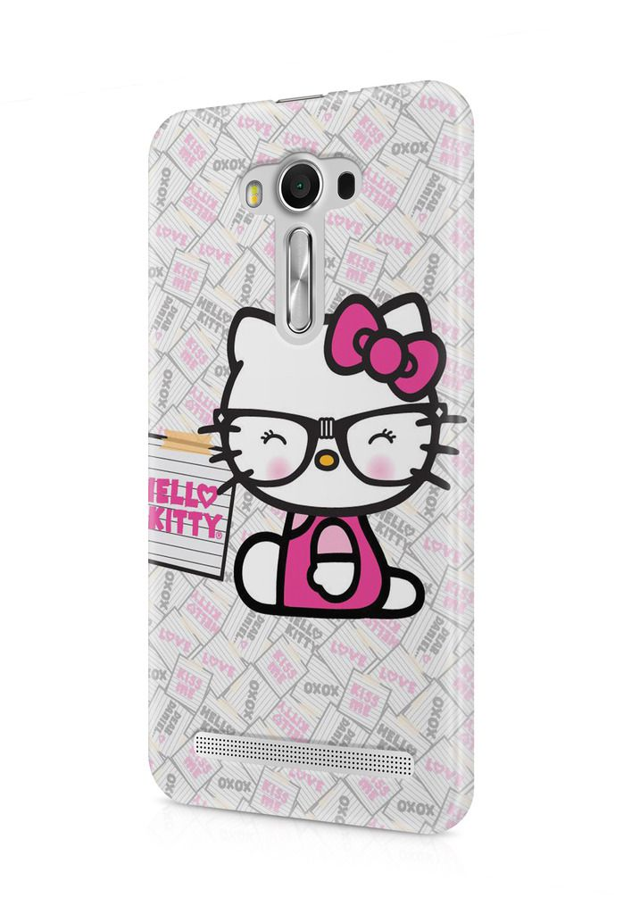 new concept ec380 3f99d Cover Affair Hello Kitty 3D Printed Back Cover Case for Asus Zenfone ...