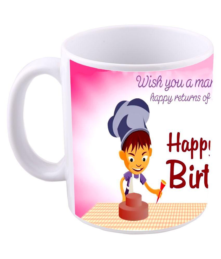 MS Ceramic Coffee Mug 1 Pcs 350 ml